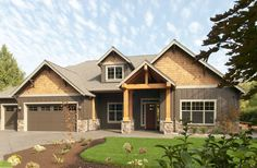 Mascord Plan 22157AA - The Ashby Like entry no steps into front door