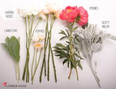 Coral and Peach Bouquet - DIY tutorial on Flower Muse blog