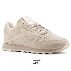 18f2171d648e9 Reebok Classic Leather Tonal NBK Shoes Sneakers BS9883 Beige SZ 4-12.5   fashion