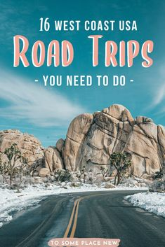 Road Trip Map, Road Trip Destinations, Road Trip Hacks, Road Trips, Pacific Coast Highway, West Coast Road Trip, West Road, Great Barrier Reef, Death Valley