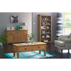 Westminster Oak Coffee Table at Homebase -- Be inspired and make your house a home. Buy now.