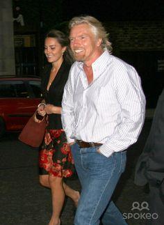 Kate & Richard Branson, 2006.... Before the engagement