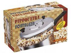 Pipoqueira Alumínio 2,7 Litros - Fortaleza Panelik 803201 com as melhores condições você encontra no Magazine Raimundogarcia. Confira!