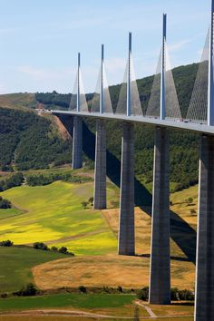 Viaduc de Millau - Tallest bridge in the world.