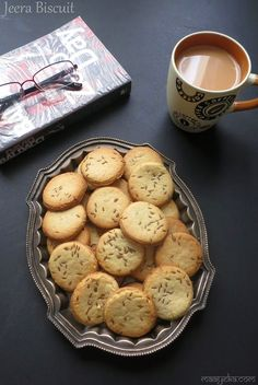 Cumin flavored bakery style biscuits Jeera biscuit are typical Indian bakery style biscuits,which are heavily flavored with the rich aroma of cumin and are sweet and salty in taste sooo different from