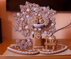 Svadobný dar-gingerbread ideas