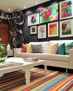 Inpirador o projeto de Loft Urbano por Arq. Neto Porpino  #design #décor #decoracao #home #homedecor #interiores #interiordesign #designdeinteriores #instadesign #instacool #instaarq #furniture #arq #architecture  #wall #compose #decorar #euamodecor #arquitetura by femachado.designer