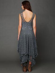 lace dress / Free People