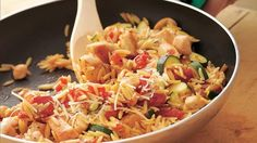 In just over half an hour, you can serve your family a filling pasta dinner!