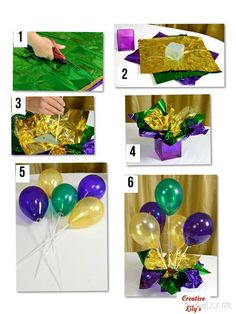 Centerpiece a: Use the can well for basic and balloon sticks for balloons - balloon decorations 🎈 Centerpiece a: Use the can as a base and the balloon sticks for balloons Stick Centerpieces, Reunion Centerpieces, Class Reunion Decorations, Mardi Gras Centerpieces, Masquerade Centerpieces, Mardi Gras Decorations, Birthday Party Decorations, Centerpiece Decorations, Balloon Decorations Without Helium