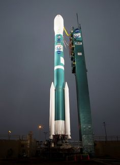 There are only three Delta II launches remaining before the rocket is retired. Photo Credit: Bill Ingalls / NASA