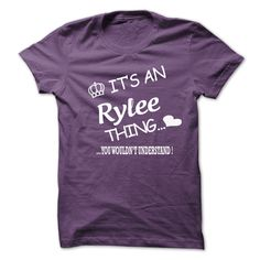 It's An Rylee Thing You Wouldn't Understand T-Shirts, Hoodies. Check Price Now ==►…