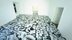Enter Peter Kogler's Rooms of Illusions | The Creators Project
