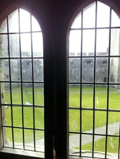 Castle window.