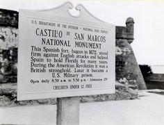 Castillo de San Marcos National Monument: St. Augustine, Florida. 17th Century Spanish Fort. Haunted.