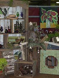 Garden design vendors at Starkville's Everything Garden Expo in March
