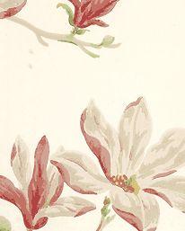 Tapet Marchwood Pink/Green från Colefax & Fowler