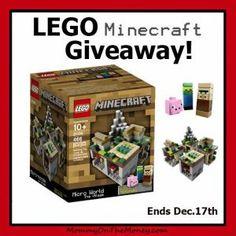 LEGO Minecraft Giveaway!