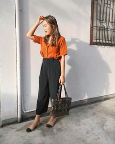 Vintage look for a sunny afternoon. How To Look Better, That Look, Sunny Afternoon, Vintage Looks, Hong Kong, Sunnies, Outfit Of The Day, Ootd, Outfits