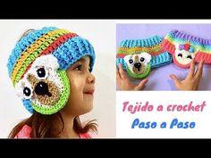 BANDA MULTICOLOR TEJIDA A CROCHET PASO A PASO PARA PRINCIPIANTES - YouTube Crochet Headband Pattern, Crochet Cap, Crochet Baby Hats, Crochet Beanie, Crochet For Kids, Crochet Doilies, Knitted Hats, Knitting Projects, Crochet Projects