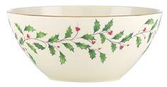 Holiday Serving Bowl