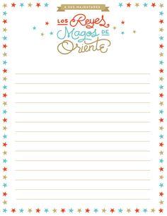 Carta Reyes Magos 3 descargable by ninomaru
