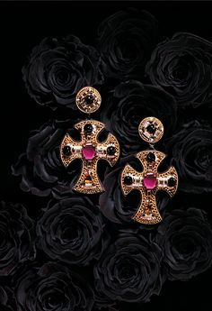 Sneak Peek: These statement earrings from Ranjana Khan are a wickedly wonderful accompaniment to any look. (Available 5/7/14 on HSN.com)