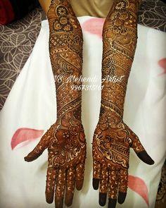 NS Mehndi Artist, Bridal Mehndi Artist in Mumbai Arabic Bridal Mehndi Designs, Wedding Henna Designs, Full Mehndi Designs, Indian Henna Designs, Engagement Mehndi Designs, Mehndi Design Pictures, Mehndi Designs For Girls, Dulhan Mehndi Designs, Henna Art Designs