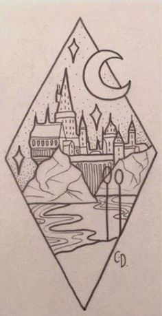 50 Ideas For Drawing Bleistift Harry Potter Harry Potter Tattoos, Harry Potter Art, Harry Potter Drawings Easy, Harry Potter Painting, Harry Potter Quidditch, Easy Doodles Drawings, Cute Drawings, Drawing Sketches, Drawing Ideas