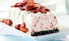 Ce dessert glacé aux fraises est tout simplement wow!
