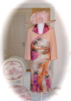 Veni Infantino, 98720, 22, Apricot & Snoxell Hat, Mother of Bride Races Ladies, £285