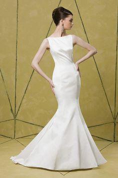 This wedding dress has incredible back details. Badgley Mischka f00cfbb980ed