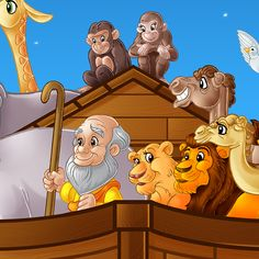 Noah's Ark on Behance