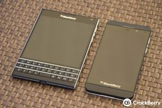 """The [BlackBerry Passport](/blackberry-passport """""""") has finally arrived and it has brought a new twist to the classic QWERTY BlackBerry design. Blackberry Passport, Blackberry Z10, Best Cell Phone Deals, All Smartphones, Blackberries, Electronic Devices, Tech Gadgets, Tat, Portal"""
