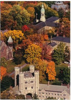 USA, New Jersey, Princeton University in fall - Central Jersey Pediatric Dentistry & Orthodontics | #EastBrunswick | #NJ | http://www.kiddent.com/