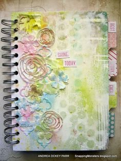 Created by Andrea for the Simon Says Stamp Monday challenge (Pastels)