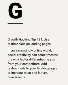 A snippet from a past newsletter. Article : 100 marketing growth hacks learned…  #entrepreneurquotes  #kurttasche