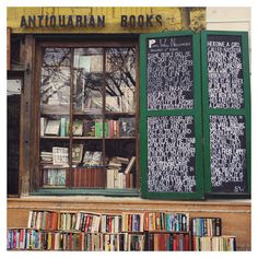 Paris Photograph Paris Bookstore  French Photography by AliciaBock