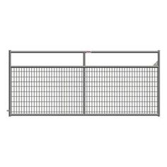 Ranch Master, 144 in. x 50 in. Wire-Filled Tube Gate, 40132127 at The Home Depot - Mobile