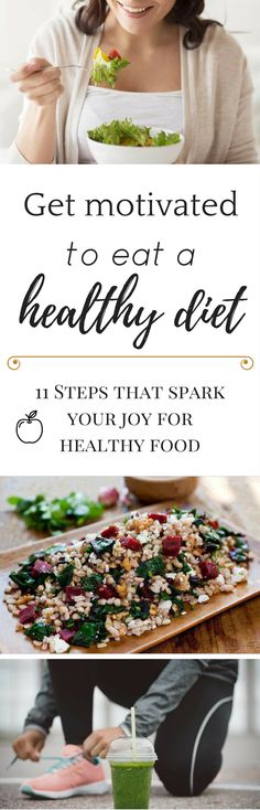 Having a hard time to stick to a #healthy #diet? We've all been there. Check out what you can do in 11 steps to  ensure your success and stay healthy for good!