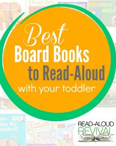 My favorite board books to read aloud with toddlers