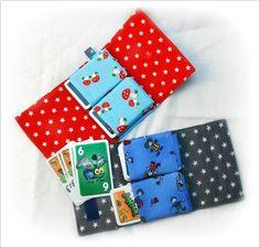 Kartenetui, Tasche fuer Spielkarten nähen (Leider Anleitung momentan nicht ner doenloadbar :( )