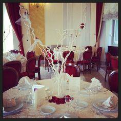 La nostra sala Borbone! #wedding #matrimonio #redwedding #rose #rose #elegance #rome #frascati