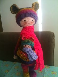 Lalylala kira made by Annemarie Evers