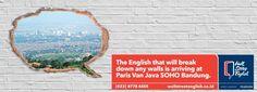 Wall Street English merupakan salah satu tempat kursus bahasa Inggris yang telah berpengalaman lebih dari 35 tahun dan mempunyai lebih dari 400 pusat belajar yang tersebar di 28 negara. Wall Street English telah mendapatkan sertifikasi ISO 9001:2008 dan memiliki kantor international di Barcelona dan Baltimore.