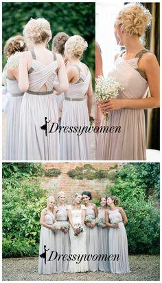 bridesmaid dress, long bridesmaid dress, fashion bridesmaid dress, wedding party dress