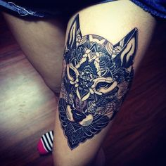 sexiest thigh tattoos 97