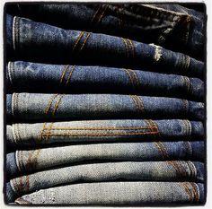 A-crotch Indigo Blue, Plaid Scarf, Denim, Stars, Fashion, Moda, Fashion Styles, Sterne, Fashion Illustrations