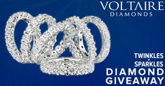 """""""Twinkles & Sparkles"""" Diamond Giveaway Beautiful Diamond Rings, Advertising And Promotion, Dream Ring, Jewelry Box, Jewellery, Giveaways, Anniversary Gifts, Engagement Rings, Jewels"""