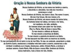 Oração de Nossa Senhora da Vitória - Prayer to our Lady of victory
